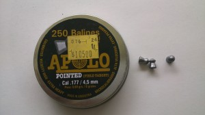 Apolo - punto redondo - 9 grains
