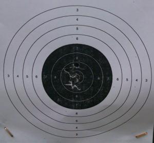 Cinco tiros - RWS Meisterkugeln 4.5 mm